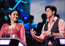 Pragjyoti Samal and Shah Rukh Khan in Paanchvi Pass