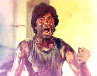 Amitabh Bachchan in Kaala Patthar