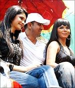 Prachi Desai, Ronit Roy and Rakhi Sawant