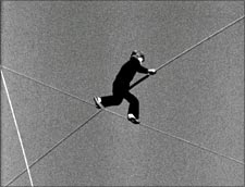 A still from Man On The Wire