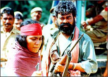 A still from Bandit Queen
