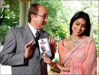 Anupam Kher and Shriya