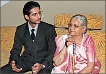 Hiten Tejwani and Sudha Shivpuri