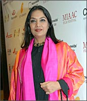 Shabana Azmi at the Mahindra Indo-American Arts Council Film Festival