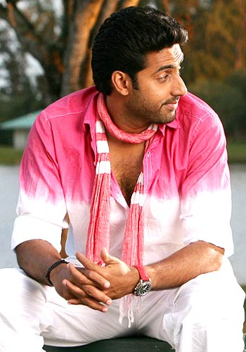 Image result for Abhishek Bachchan pink scarf