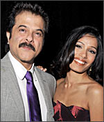 Anil Kapoor and Freida Pinto