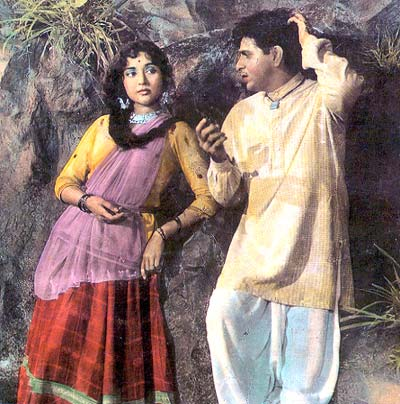A scene from Ganga Jamuna