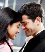 Shriya Saran and Jesse Metcalfe in a still from The Other Side of the Line