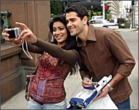Shriya and Jesse Metcalfe in The Other End Of The Line