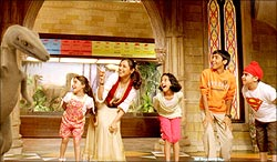 A still from Thoda Pyaar Thoda Magic