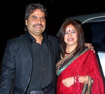 Vishal and Rekha Bhardwaj