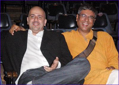 Ashwin Gidwani and Mahesh Dattani