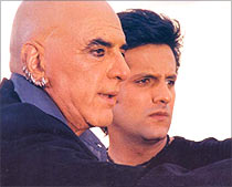 Feroz and Fardeen Khan in Ek Khiladi Ek Haseena