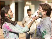 A scene from Bollywood Hero