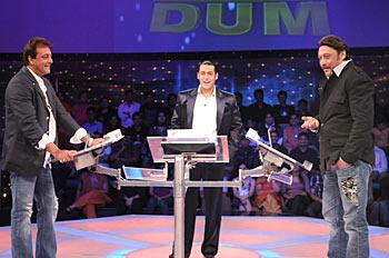 Sanjay Dutt, Salman Khan and Jackie Shroff