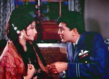 A scene from Aradhana