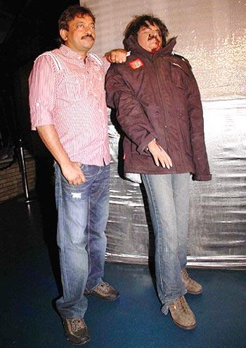 Ram Gopal Varma and a dummy