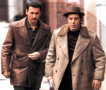 A scene from Donnie Brasco