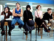 A scene from The Breakfast Club
