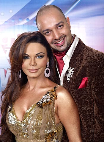 Rakhi Sawant and Elesh Parujanwala