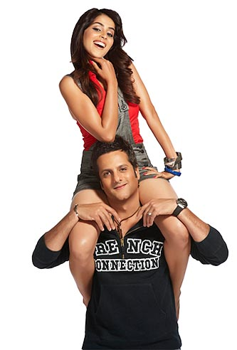 Genelia and Fardeen Khan