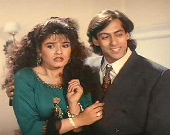 A scene from Andaz Apna Apna