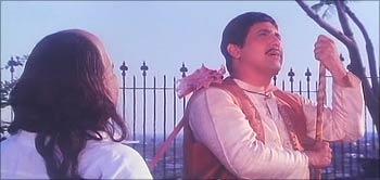 A scene from Saajan Chale Sasural