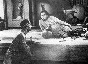 Balraj Sahni and Murad in Do Bigha Zamin