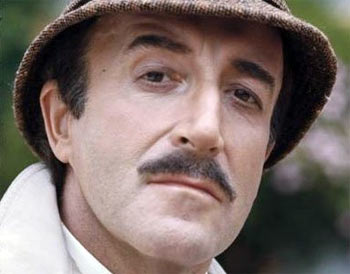 Peter Sellers in a scene from The Pink Panther