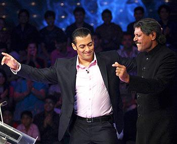 Salman Khan and Kapil Dev