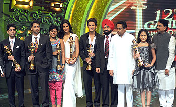 The winners of the Rajiv Gandhi awards
