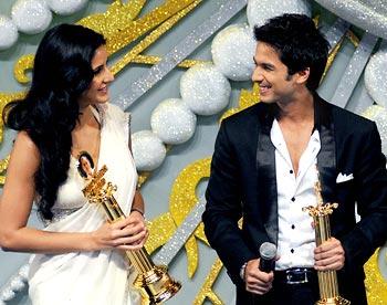 Katrina Kaif and Shahid Kapur