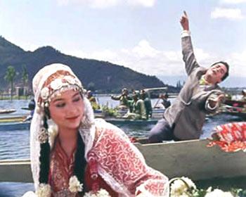 A scene from Kashmir Ki Kali