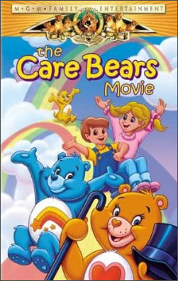 A scene from The Care Bears Movie