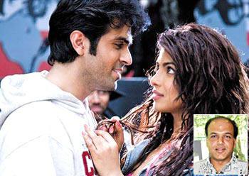 Hurman Baweja and Priyanka Chopra. Inset: Ashutosh Gowariker