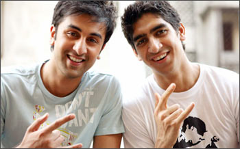 Ranbir Kapoor and Ayan Mukherjee