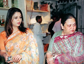 Nagma and Seema Sadhana
