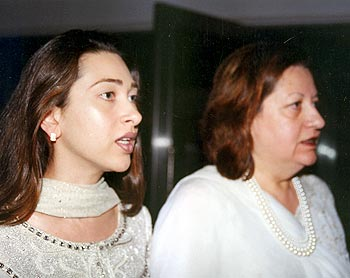 Karisma and Babita Kapoor