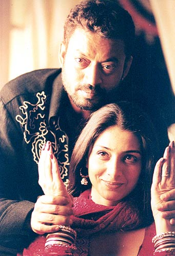 Irrfan Khan and Tabu in a scene from Maqbool