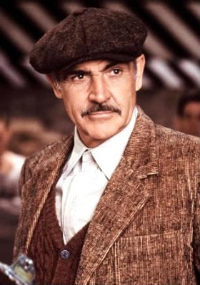 Sean Connery in a scene from The Untouchables