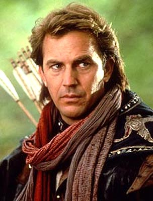 Kevin Costner in a scene from Robin Hood: Prince of Thieves