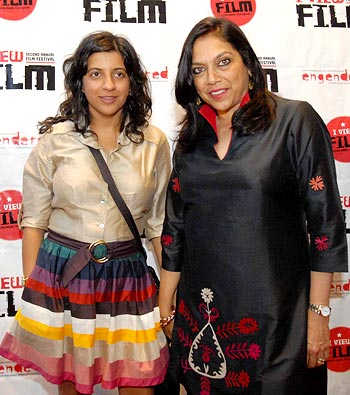 Zoya Akhtar and Mira Nair