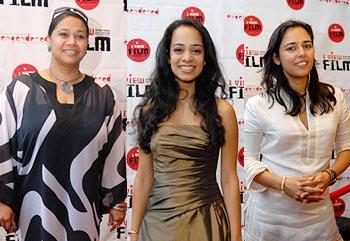 Myna Mokherjee, Devika Urvashi Bhise and Meheer Jabbar