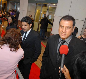 Farhan Akhtar and Boman Irani