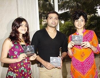 Shenaz Treasurywala, Himesh Reshammiya and Sonal Sehgal at Radio music launch