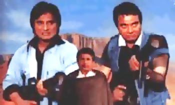 A scene from Ramgarh Ke Sholay