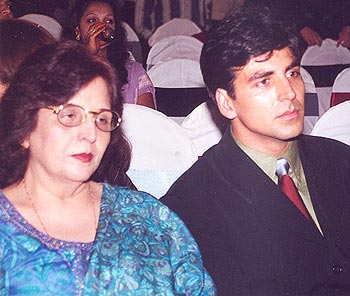 Akshay and his mom