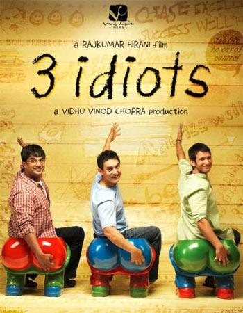 A poster of 3 Idiots