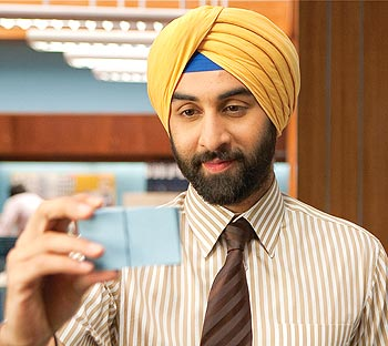 Ranbir Kapoor in a scene from Rocket Singh: Salesman Of The Year