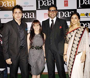 Imran Khan, Avantika Malik, Abhishek and Vidya